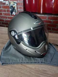 Helmet Flip-up CABERG Trip With Dual Visor System