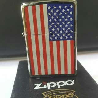 Zippo Flag USA