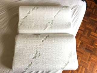 Original AKEMI Charcoaled Bamboo Pillow x2