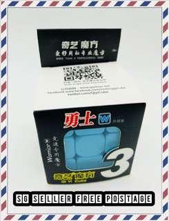 Warrior 3x3 Rubix Cube Free Postage!