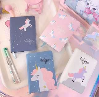 Unicorn A6 notebooks