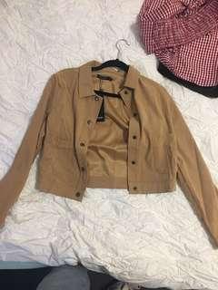 Nasty gal suede jacket