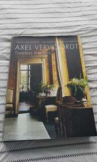 Collectors item! Axel Vervoordt - Timeless Interiors