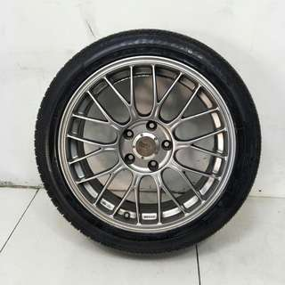 17 '' Sports Rim With Tyres 5x114.3 (AS1090)