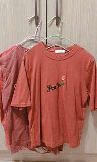 🚚 磚紅色上衣 (版媽超推👍)1件$100