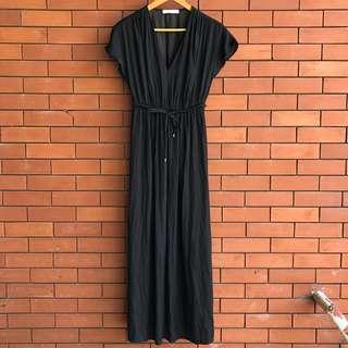 Promod Maxi Dress // small // black