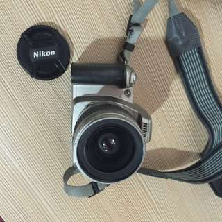 Nikon SLR and free Fuji camera
