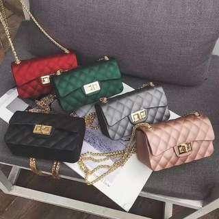 Jelly Chanel mini sling bag