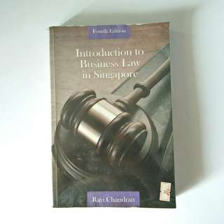 Introduction to Business Law in Singapore 4th Edition