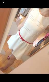 Jill by Jill Stuart white lace one piece #mayflashsale
