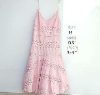 BN Pink Lace Dress