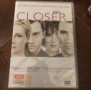 Closer DVD Movie