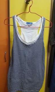 Striped tank top from G2000