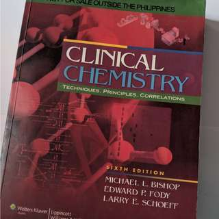 Clinical Chemistry 6th Edition