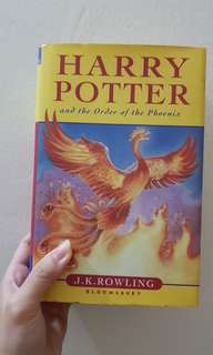 Harry Potter and the Order of the Phoenix - hard cover