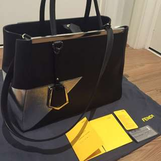 Authentic Fendi Medium 2Jours