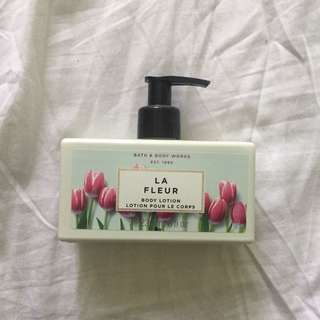 BATH AND BODY WORKS LA FLEUR LOTION