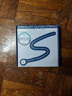 Stringjoy Heavy Bottom Light Gauge Electric Guitar Strings