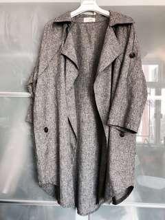 韓國🇰🇷全新顯瘦棉麻外套
