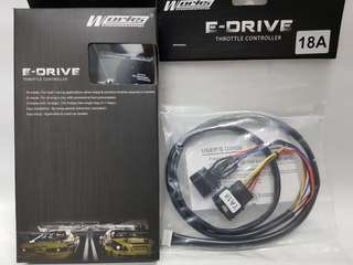 Works E-Drive (18A) - Ford Ranger T6 / Focus MK3 2011-on