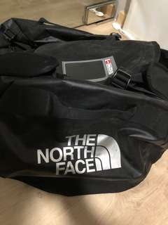 North face duffel bag