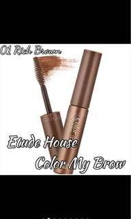 Etude House Color My Brow Rich Brown