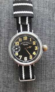 Vintage West End Secundus MiliTary Watch