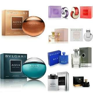 Bvlgari Tester Perfume