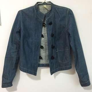 [CHEAP MONDAY] 22 Vintage Mandarin Denim Jacket