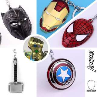 Infinity war super heroes Car Keychains