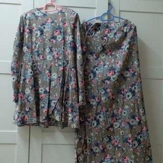 *Sale!* Lovely Baju Kurung Cotton (lightweight) #carouraya