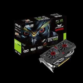 Asus GTX 1060 6TGB Strix DirectCU II
