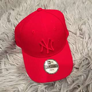 YANKEES HAT(bright red)