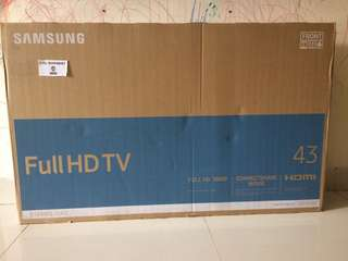 SAMSUNG FULL HD TV 43inch