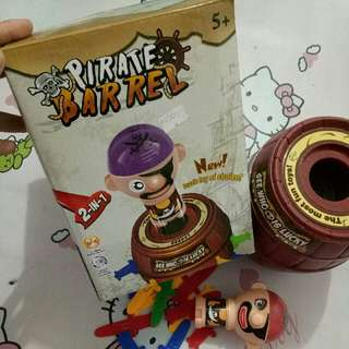 Pirate Barrel (Running Man Game)