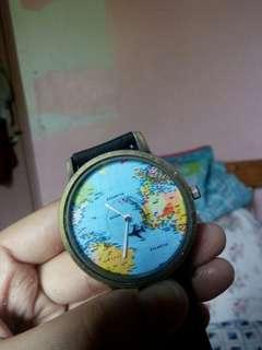 Airplane Travel watch w/o battery