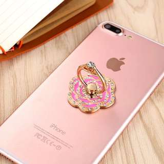 Mobile Phone Ring Stand Hook with Diamond Ring