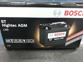 Car Battery Bosch AGM Battery                                                                             LN5 92AH CCA850                                                           1 Year Warranty