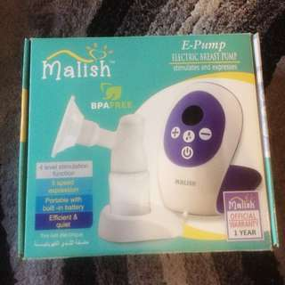 Malish Electric Breast Pump Single