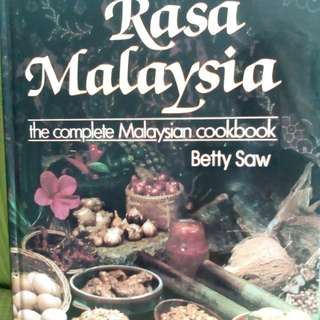 Cookbook Rasa Malaysia by Betty Saw