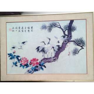 Chinese Vintage Painting中国画