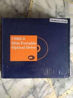 USB 2.0 Slim Portable Optical Drive (Panasonic Driver)