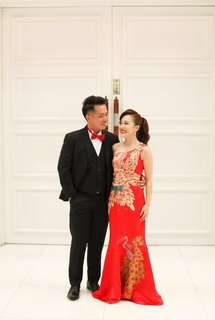 Elegant Cheongsam Gown