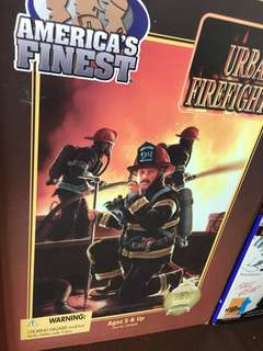 Urban firefighter action figure