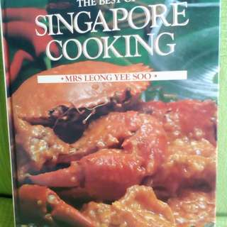 Cookbook The Best of Singapore Cooking Mrs Leong Yee Soo