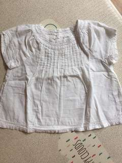 Baby girl cotton TOP blouse