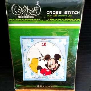 Cross Stitch-Mickey  /針繡-米奇