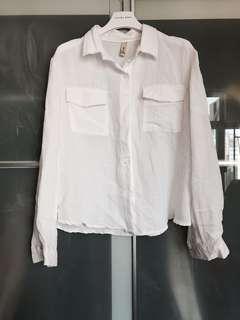 全新白色恤衫