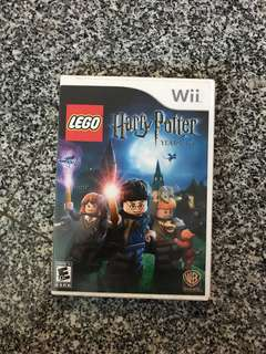 Wii LEGO Harry Potter 1-4