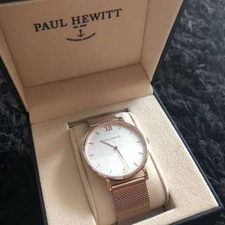 Paul Hewitt Rose Gold Sailor Line watch